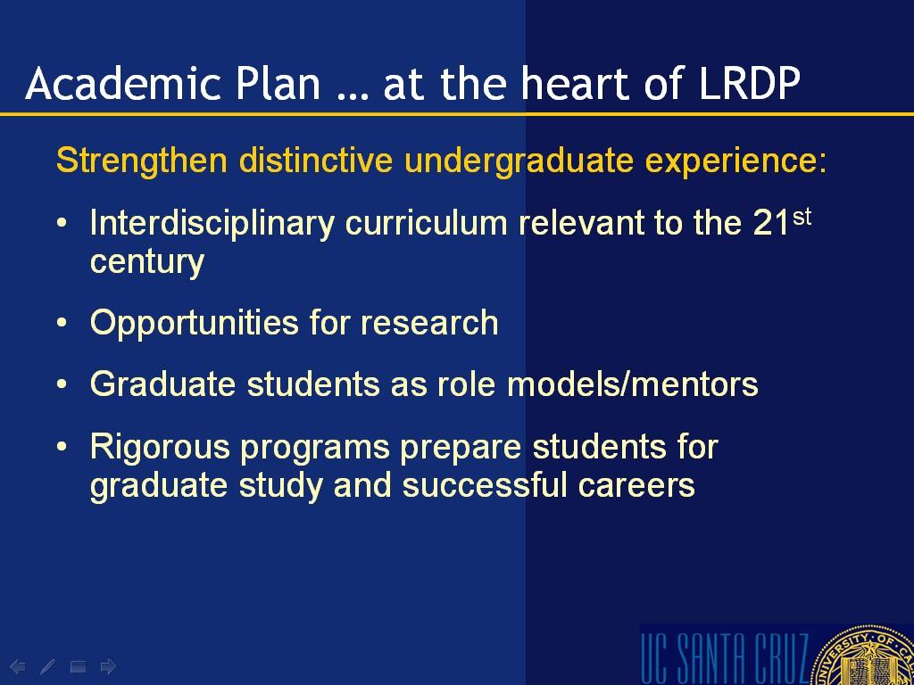 UC Santa Cruz - 2005 LRDP: Final Draft EIR